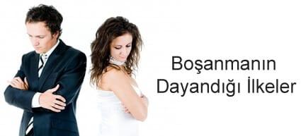 Boşanma Hukukunda Boşanmanın Dayandığı İlkeler