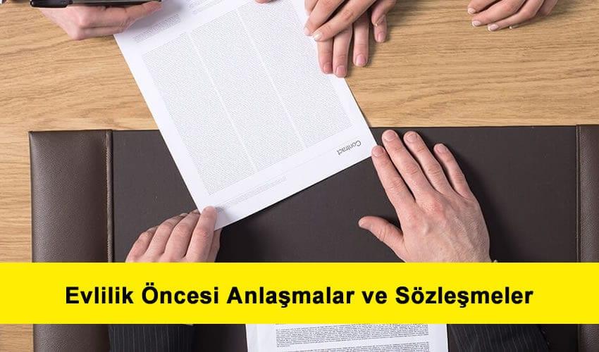 Türk medeni kanununda evlilik öncesi anlaşmalar ve sözleşmeler
